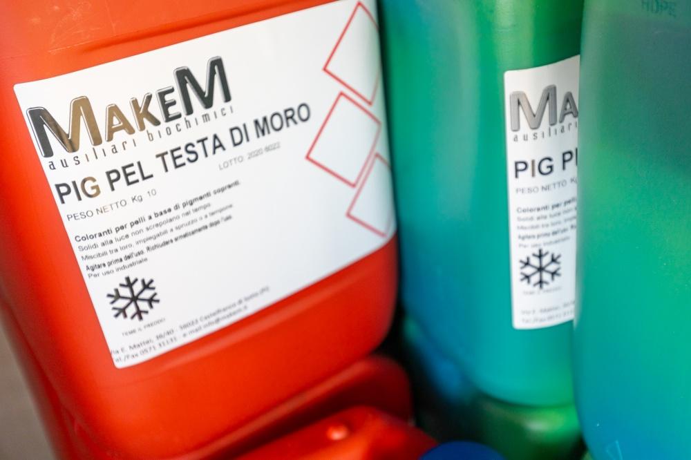 coloranti chimici per pelli